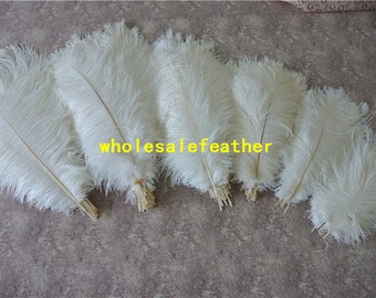 100 pcs white ostrich feather plumes for wedding centerpieces wedding decor party event supplies