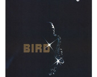 Charlie Parker Bird Movie Repro 1988 Red Rare Poster