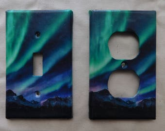Aurora Switch Plates