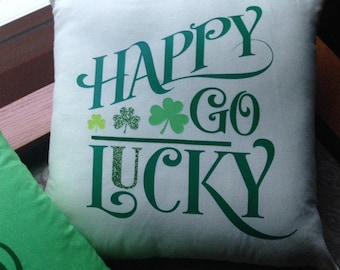 """16"""" Pillow Covers for St. Patrick's day and decorating for the Month of March."""