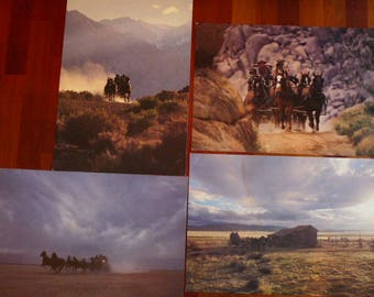 Stagecoach Photographs - Western Stagecoach Photographs - Wild West - Stagecoach Outpost - Western Photos - Cowboy