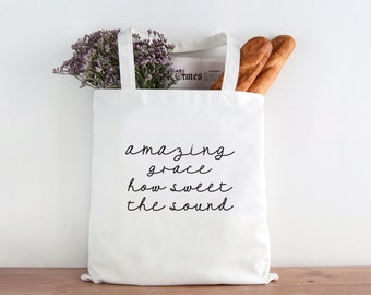 Amazing Grace, amazing grace how sweet, Grace, Verse, Bible Verse, Quote, Christmas gift, Christmas present