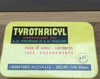Vintage French Medecine Tin
