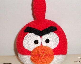 Crochet Angry Birds Red Cardinal