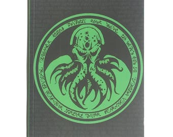 Cthulhu A5 book notebook or sketch book 122 pages