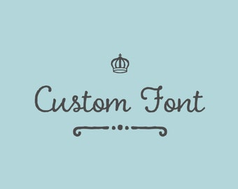 Custom Font Fee