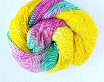 Easter Egg hand painted indie yarn