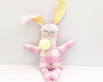 Lil Lucy the plush bunny