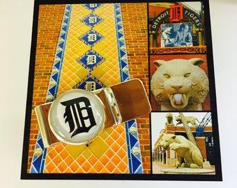 Detroit Tiger Money Clip