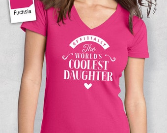 Cool Daughter, Daughter Shirt, Birthday Gifts! Daughter Gift. Daughter T-Shirt, Daughter Birthday Gift, Daughter Present, Mother Daughter!