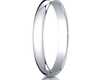 10kt White Gold Wedding Band 3mm, 3mm Wedding Ring, White Gold Ring, Solid Gold Ring, 10kt 3mm, 10k White Gold Wedding band