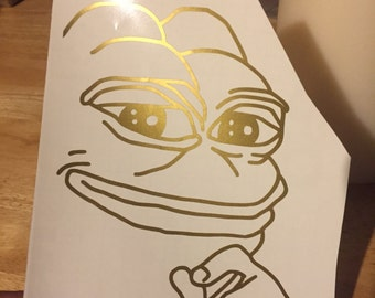 Pepe meme decal