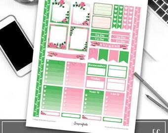 Pinkies Printable Planner Stickers for Erin Condren Life Planner