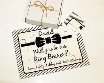 Will you be my Ring Bearer,  Ring Bearer proposal, Asking  Ring Bearer, Ring Bearer puzzle, Junior Groomsman puzzle, Usher, Groomsman