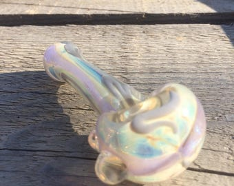 Pastel Paradise Dichroic Color Changing Glass Smoking Pipe Glass Pipe Tobacco Pipe
