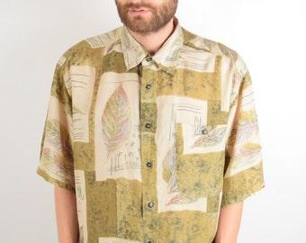Vintage Silk Shirt (1635)