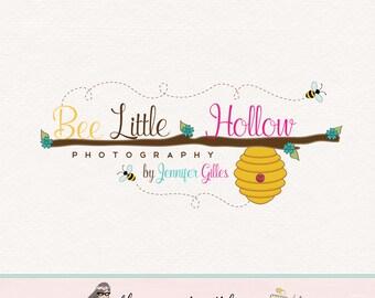 beehive Logo bee logo design honey logo design premade logo design photography logo bespoke logo design boutique logo watermark logo