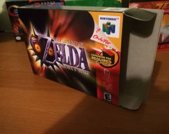 The Legend of Zelda: Majora's Mask Nintendo 64 N64 Reproduction Box! Best Repros in the world!