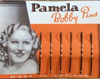 1930's Vintage Deadstock PAMELA Bobby Pins