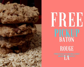 Lactation Cookie 1 Month Supply 36 cookies Baton Rouge shipping