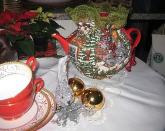 ChristmasTea Cozy H028