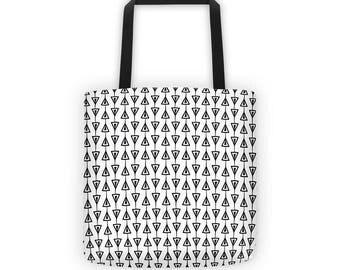 Boho Tote Bag - Graphic Tote Bag - Tote Bag