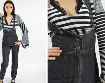 Black dress jeans 1980s