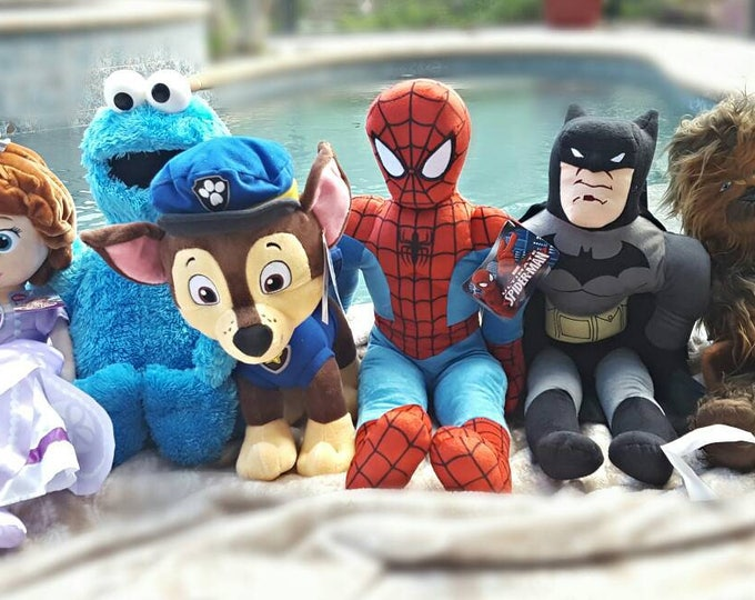 Featured listing image: Stuffed Characters with toy arm sling - Get Well Gift