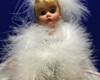 Portrett Doll Madame Alexander Silver Belle 8inches--Free Shipping