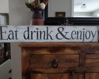 kitchen signs | etsy
