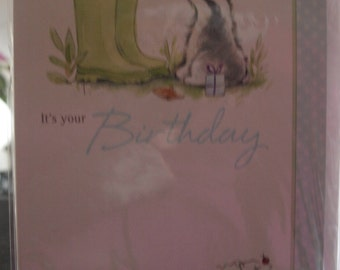 A Little Bird Told Me  It's Your Birthday  Birthday Card