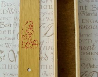 Pencil box Pencil case Vintage wooden pencil box wooden pencil case school pencil box Soviet pencil case USSR wooden  pencil box