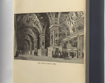 Canvas 24x36; Vatican Library Rome 1881