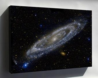 Canvas 16x24; Nasa Galaxy Evolution Explorer Andromeda Galaxy