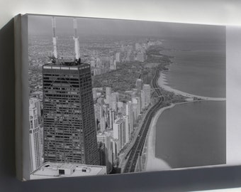 Canvas 16x24; Aerial View Of Lincoln Park 01