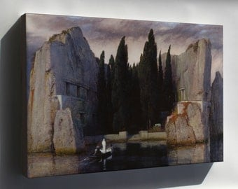 Canvas 16x24; Isle Of The Dead By Arnold Bocklin