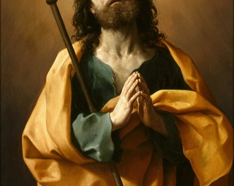 16x24 Poster; Guido Reni Saint James The Greater