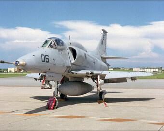 16x24 Poster; A-4M Skyhawk A-4 Attack Squadron Vma-214 Blacksheep