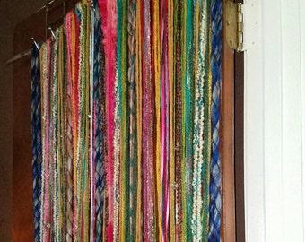 Boho Gypsy Driftwood Door Curtain ~ Boho Curtain ~ Gypsy Curtain ~ OOAK  Macrame Wall Hanging