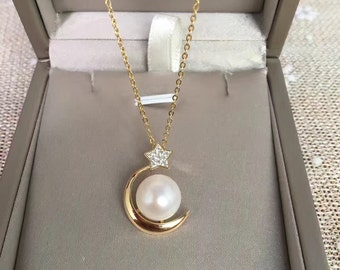 pearl necklace,pearl pendants, freshwater pearl pendants,sterling silver necklace,Wedding jewelry,wedding necklace