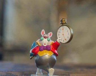 Alice in Wonderland White Rabbit Christmas Ornament