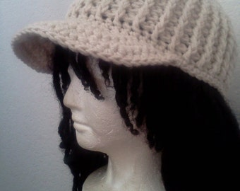 Cadet Hat Pattern (for UK crocheters)