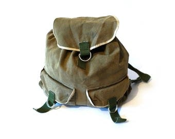 backpack mens backpack Vintag Canvas Backpack Military Backpack School Army Backpack Army bag Travel Backpack