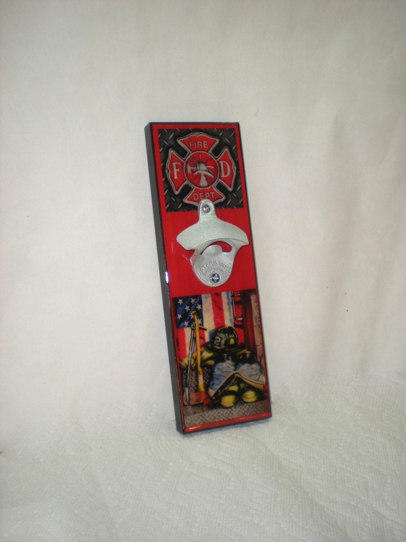 Fantastic Firefighter Bottle Opener Firefighter Gift