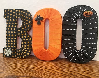 SALE! Halloween Decor- Decorative Letter Set by Tightly Wound Designs