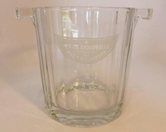 Moet & Chandon mini wine cooler/ice bucket – original from the 1980s