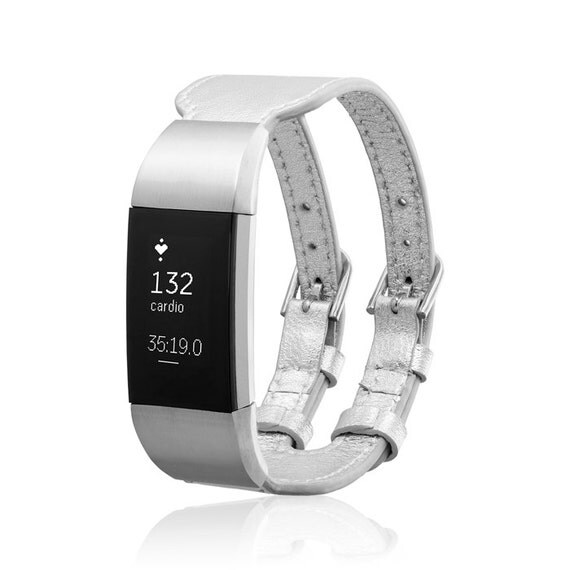 Bracelet  CLIPPER - Silver - Jewelry for Fitbit Charge 2