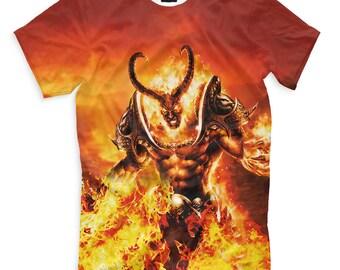 T-shirt fullprint World of Warcraft