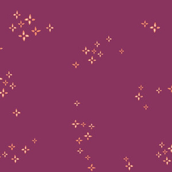Crib Sheet >> Garden Dreamer Twinkle Star in Berry >MADE-to-ORDER star bedding, toddler sheet, boho bassinet sheet, orchid mini crib sheet