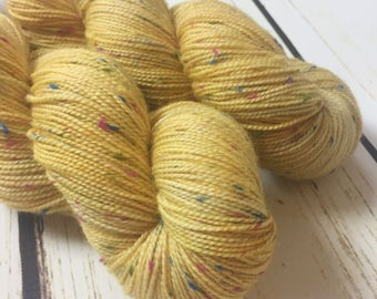 Rainbow Harris Sock / Dandy Lion / Superwash Merino-Tweed
